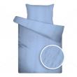 Liliom UNI kék krepp ágyneműhuzat